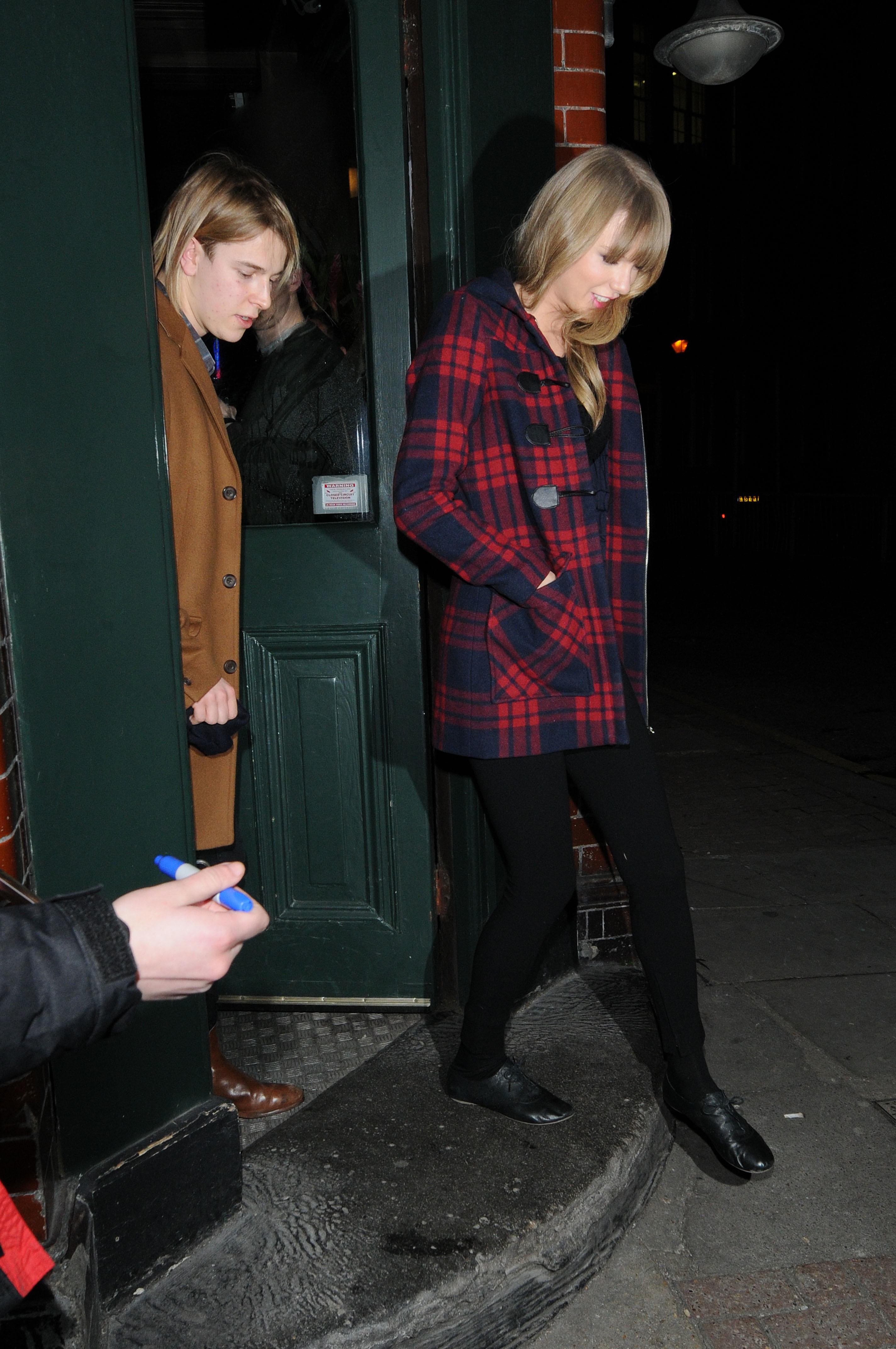Taylor Swift Tom Odell London date