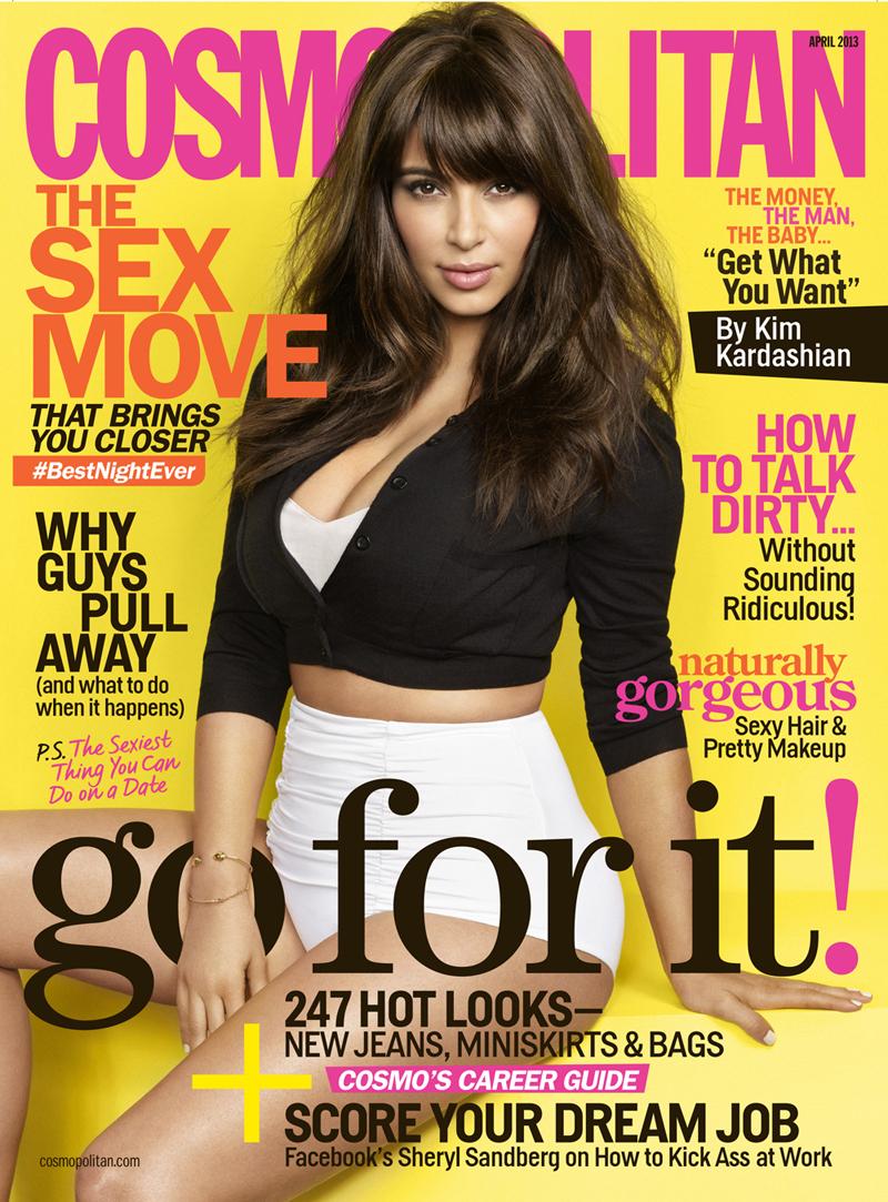 kim kardashian cosmo cosmopolitan magazine cover