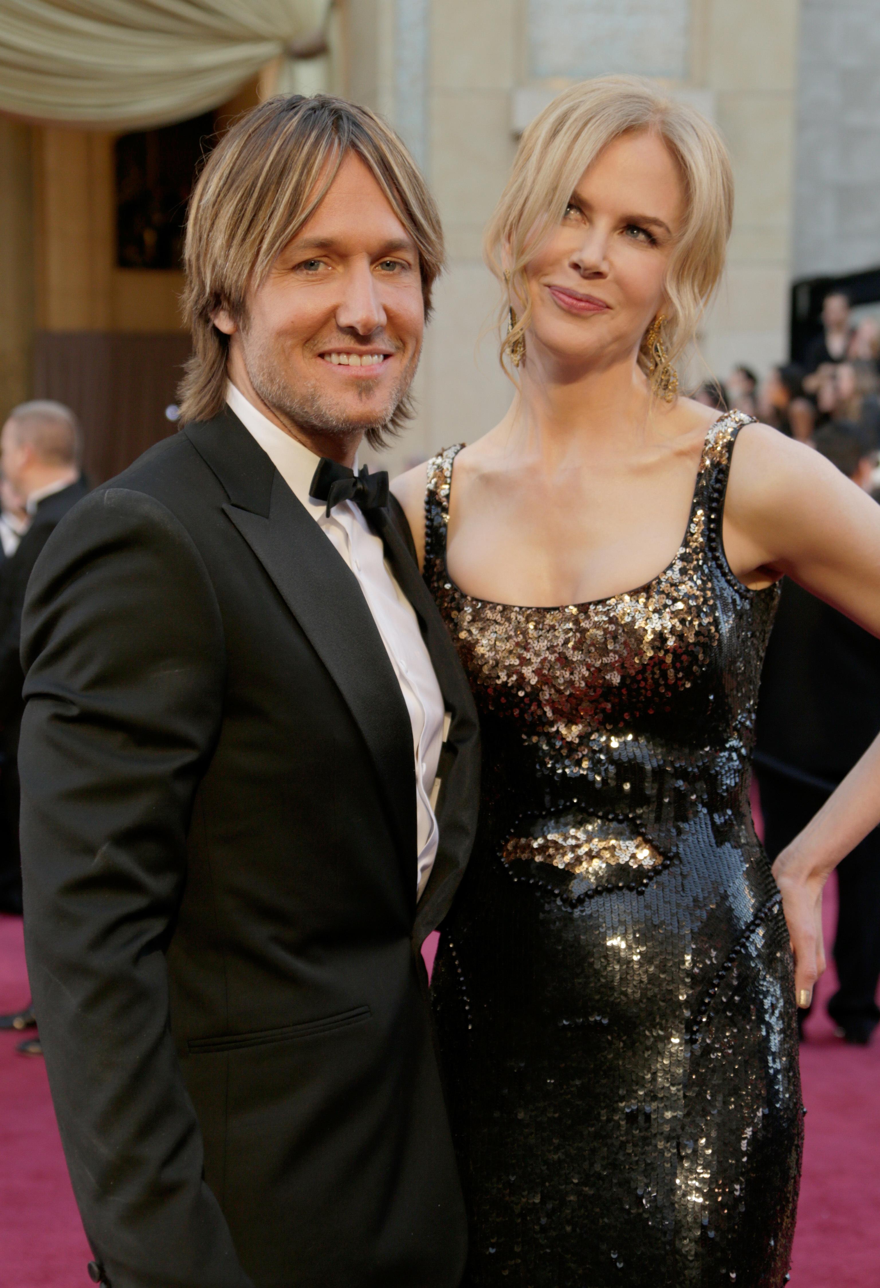 Nicole Kidman Keith Urban Oscars 2013