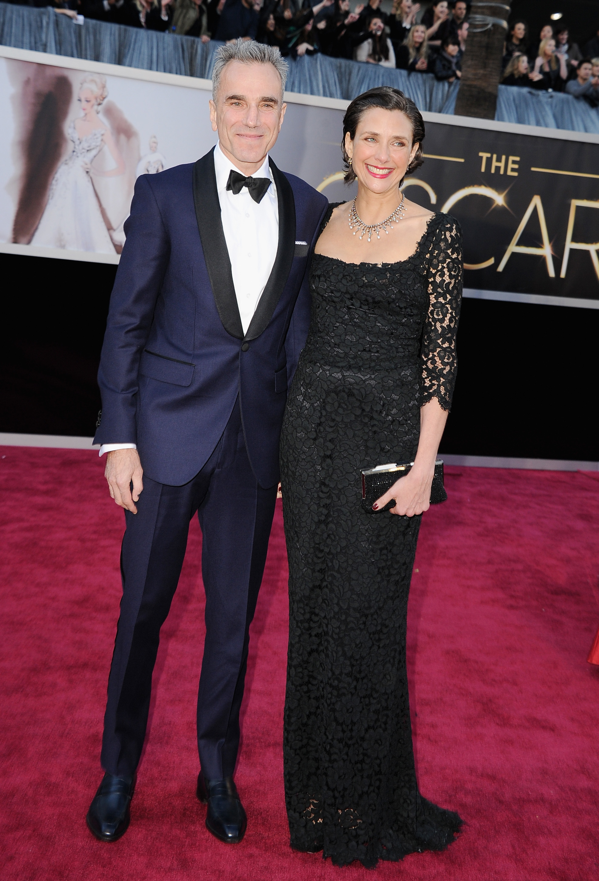 Daniel Day Lewis and Rebecca Miller Oscars 2013