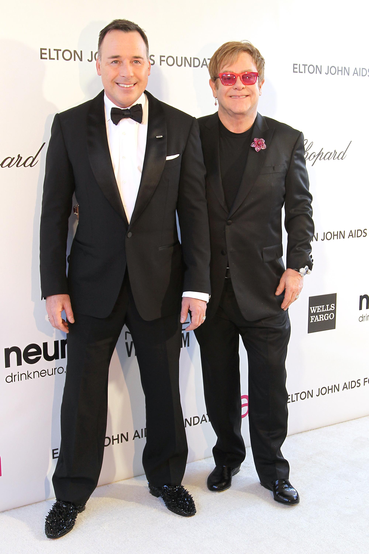 Elton John and David Furnish long lasting celeb couple