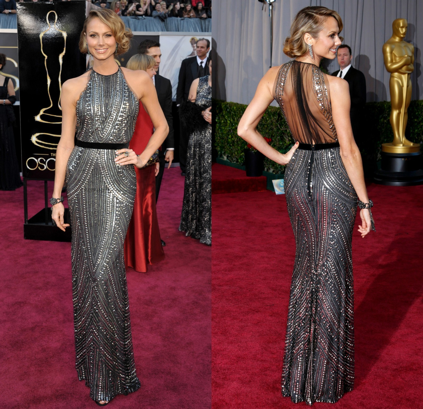 Stacy Keibler 2013 Oscars