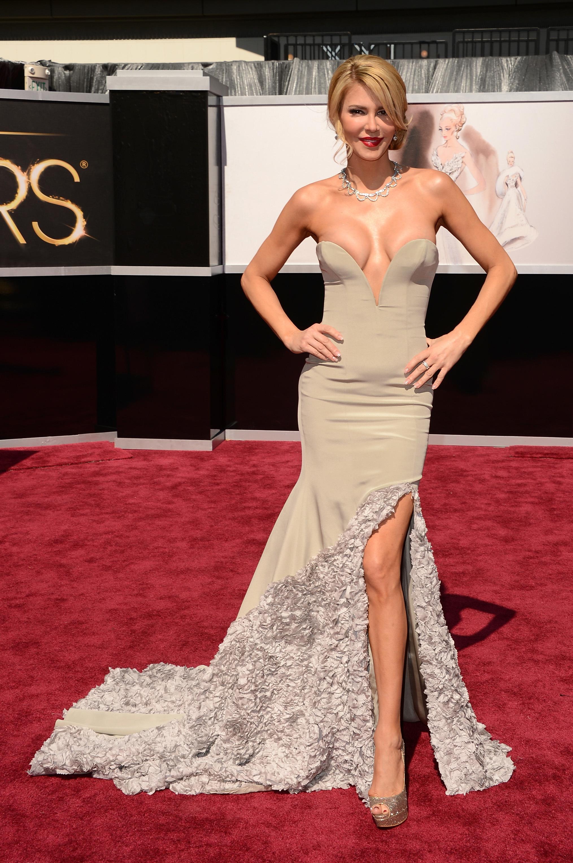 Brandi Glanville 2013 Oscars