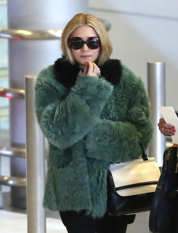 Ashley Olsen green