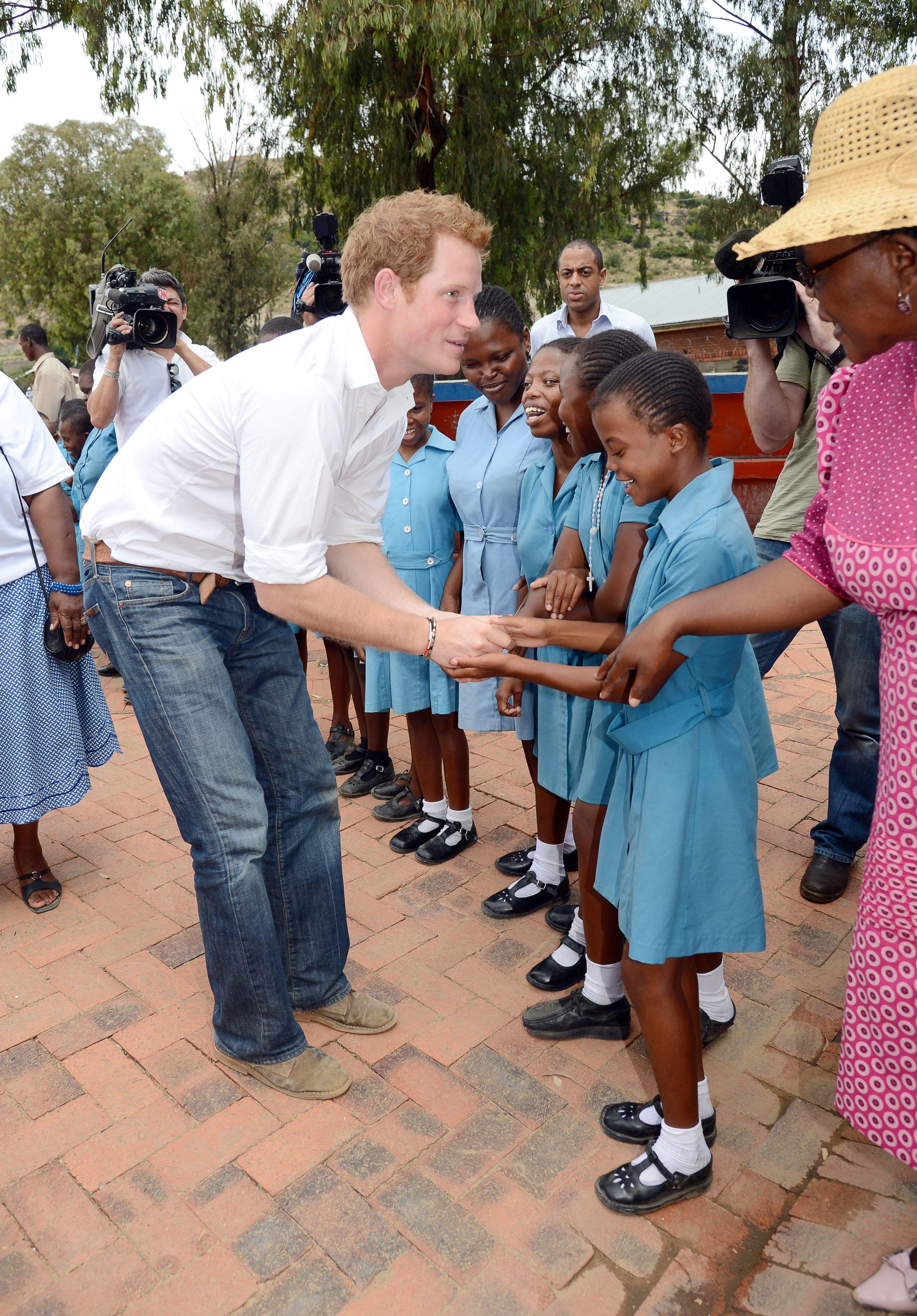 Prince Harry africa