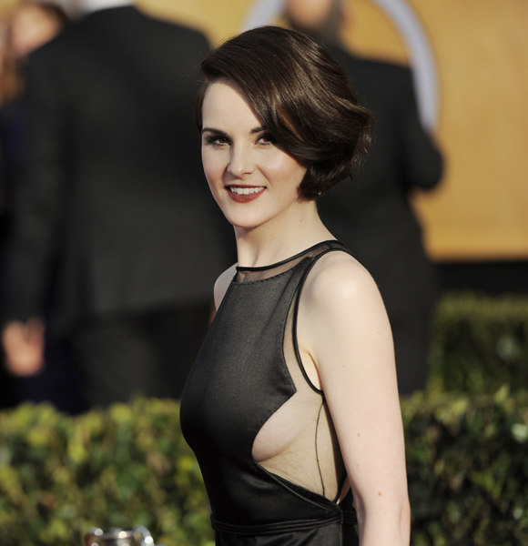 Michelle Dockery cleavage