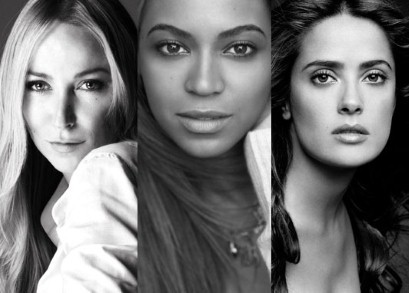 Salma Hayek Beyonce Chime for Change