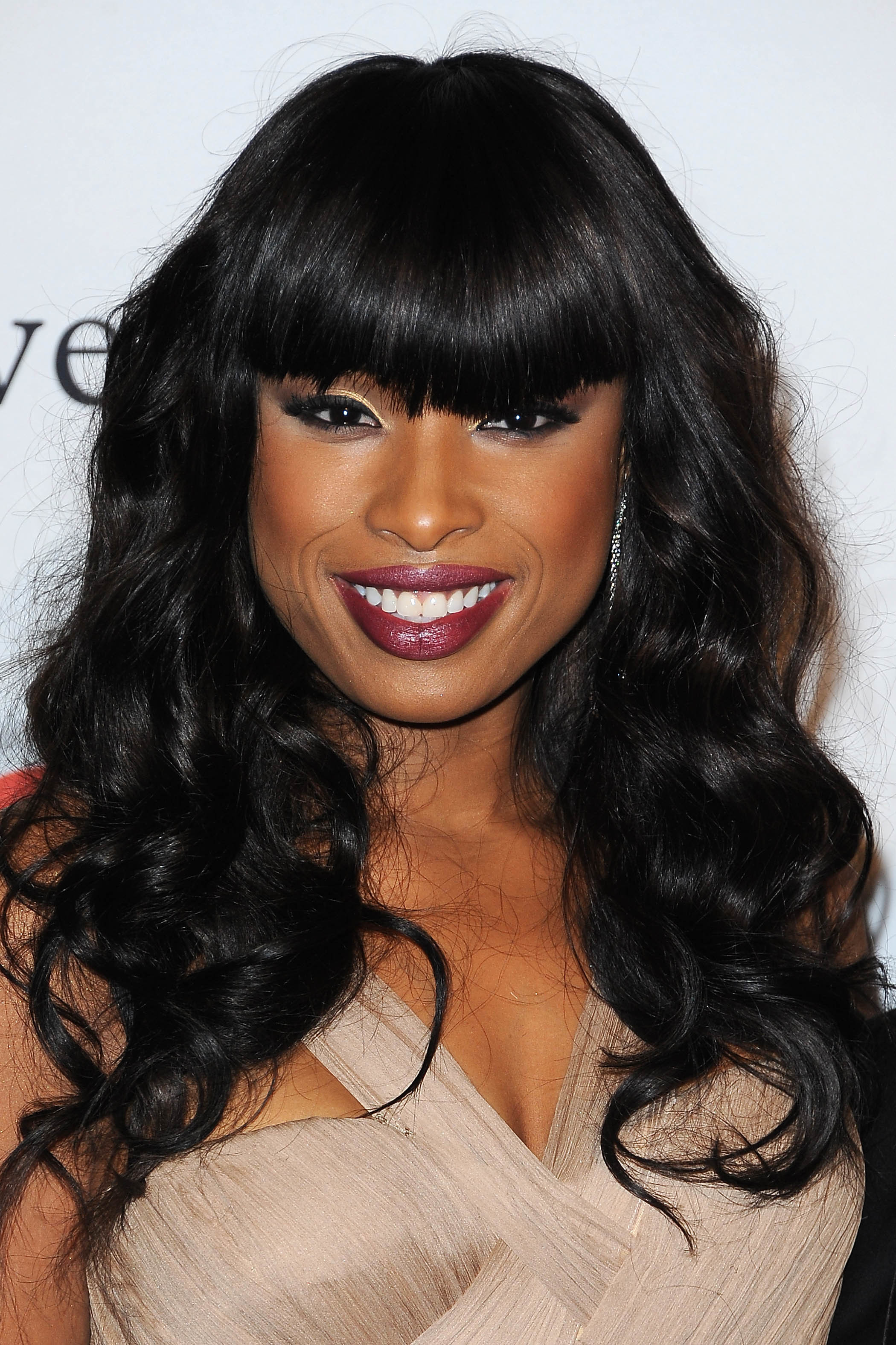 Jennifer Hudson bangs