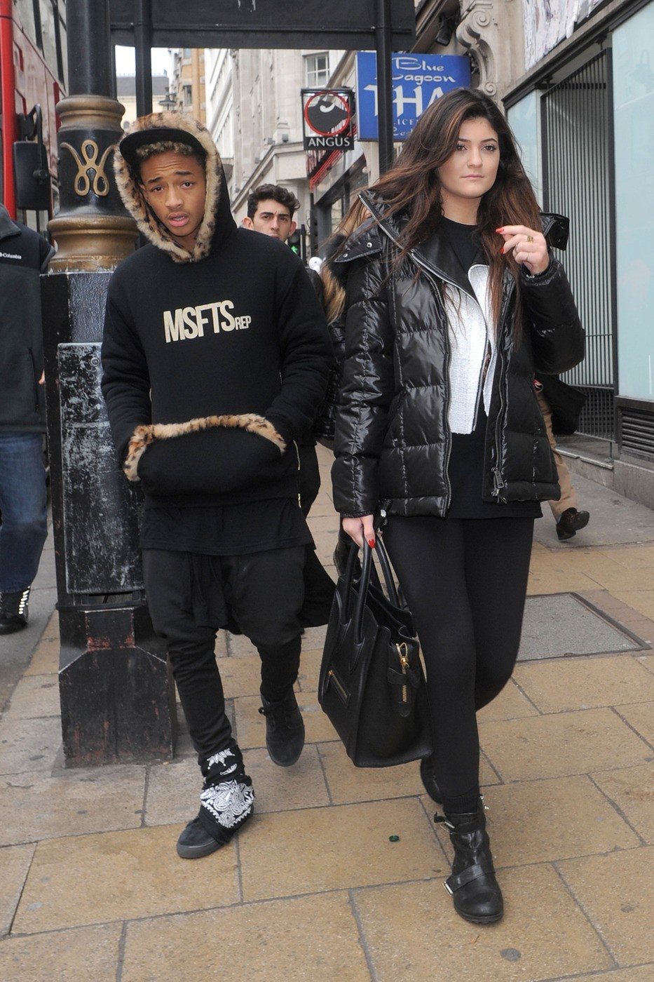 Jaden Smith Kylie Jenner young love