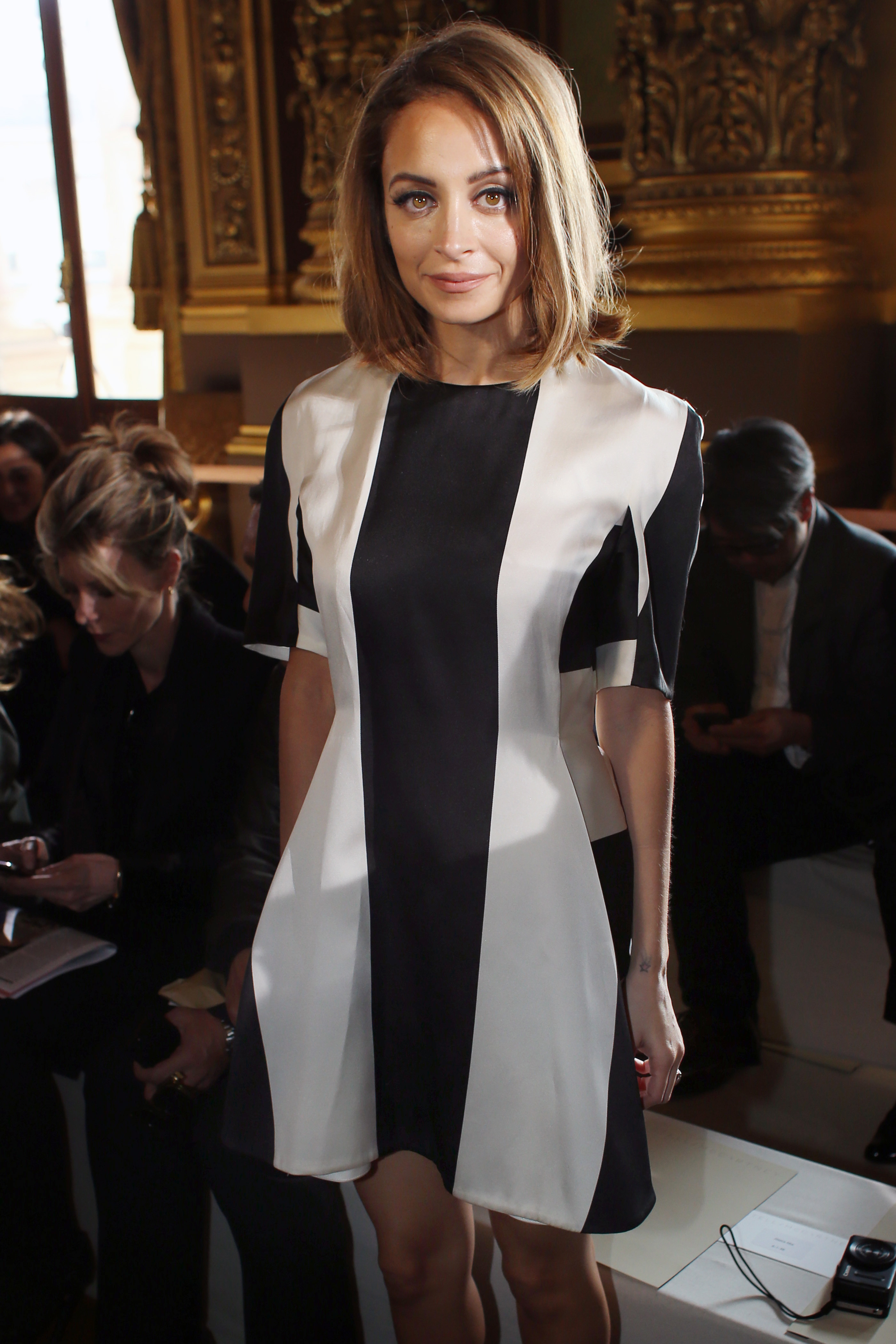 nicole richie paris fashion week stella mccartney