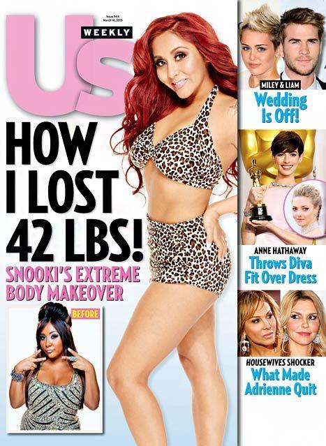 Snooki leopard bikini us weekly