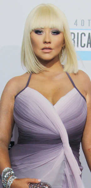 Christina Aguilera makeover no makeup weight loss full figure The Voice