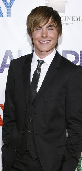 Zac Efron long and short hair