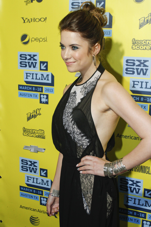 Ashley Benson side boob