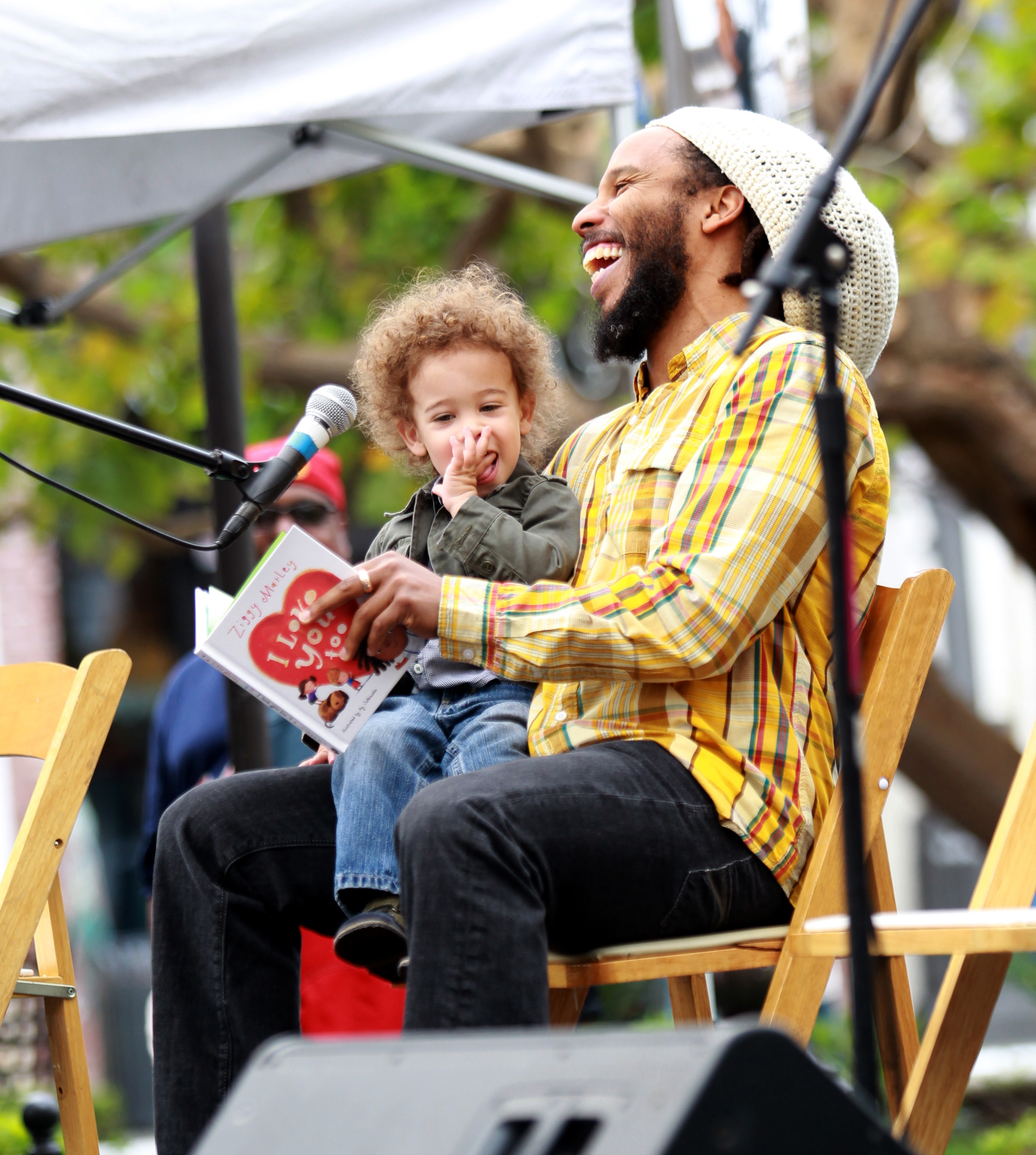 Ziggy Marley Abraham reading I Love You Too