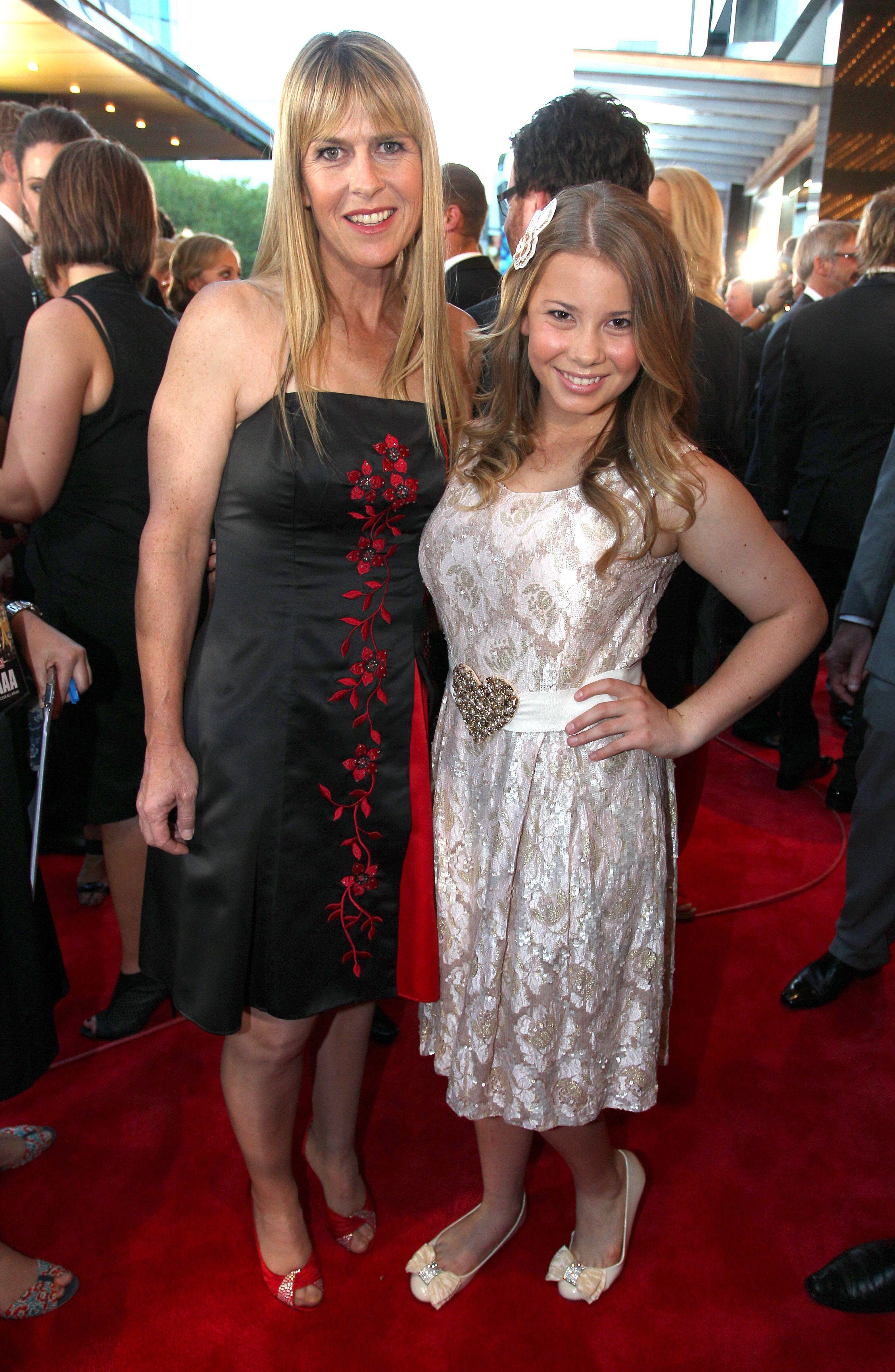 Bindi and Terri Irwin