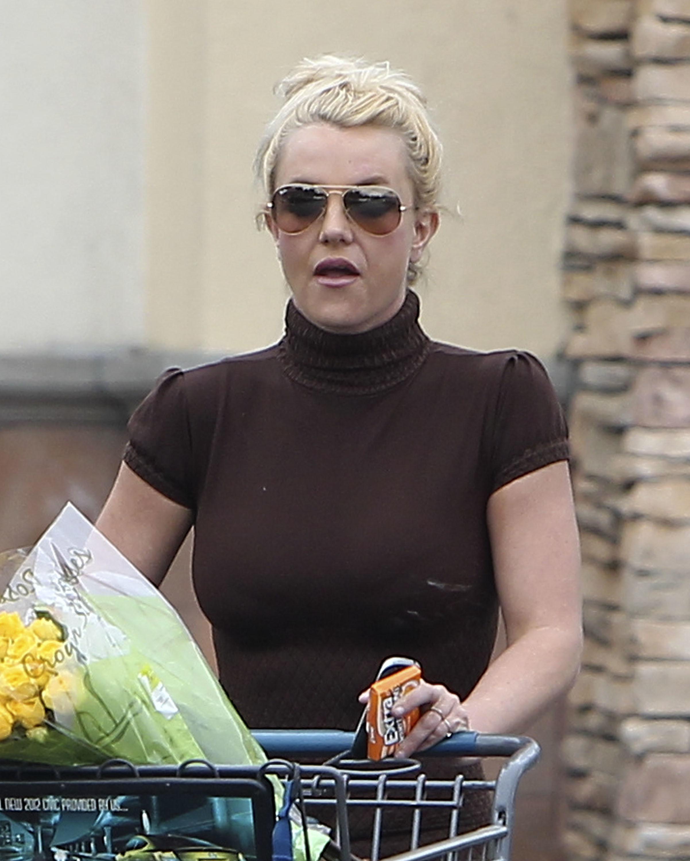 Britney Spears shocked