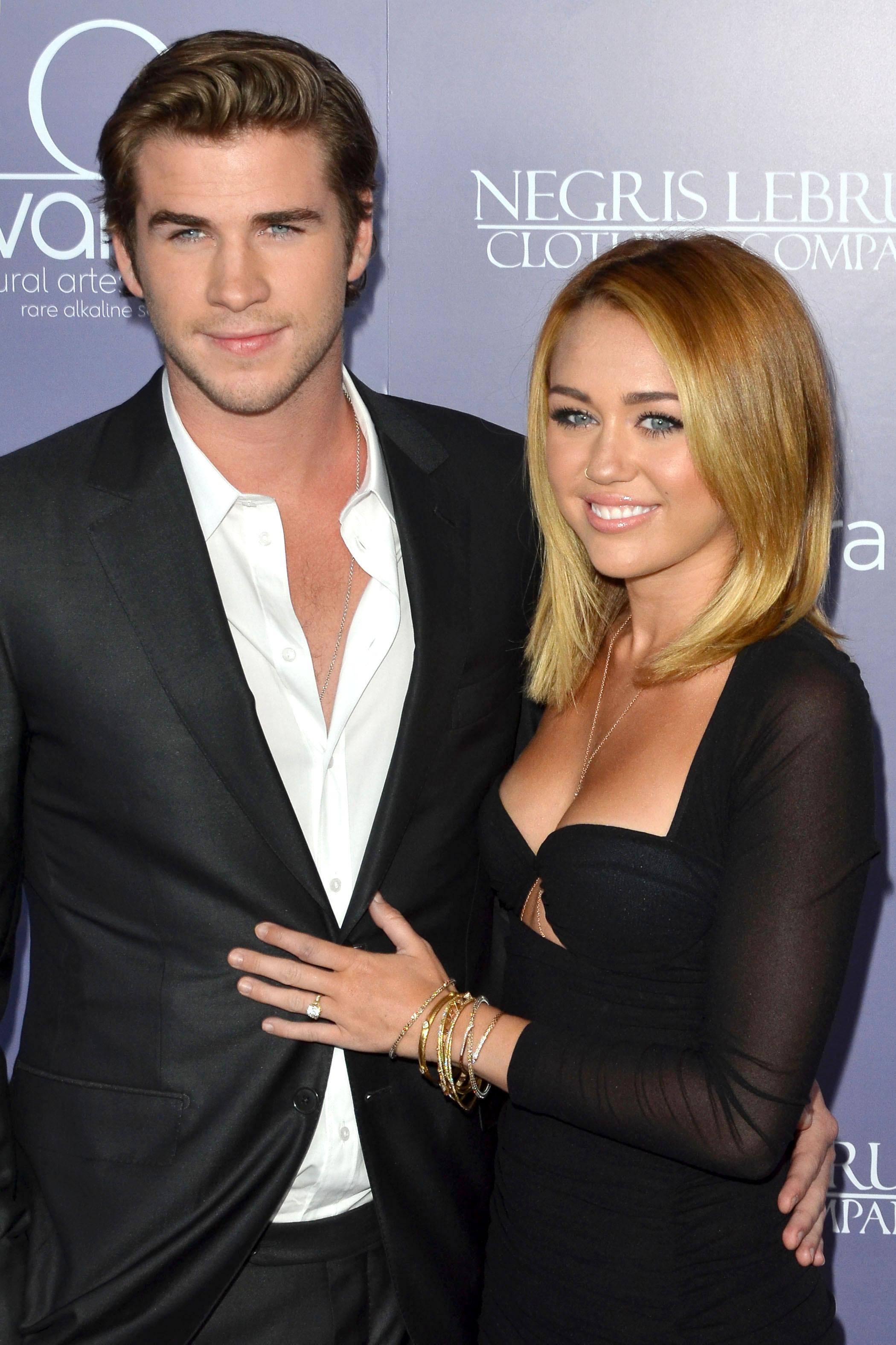 Miley Cyrus on Liam Hemsworth engagement