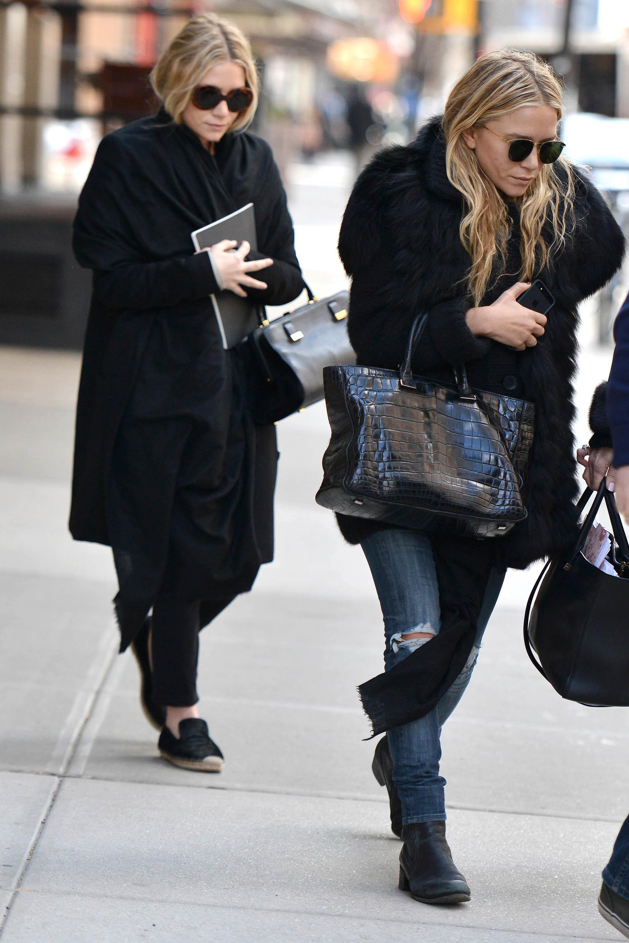 The Olsen twins street style