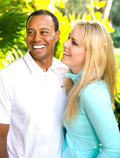 tiger woods lindsey vonn dating confirm romance facebook official portrait