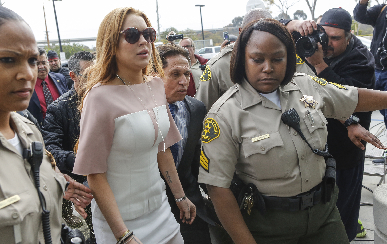 Lindsay Lohan plea deal lockdown rehab jail time