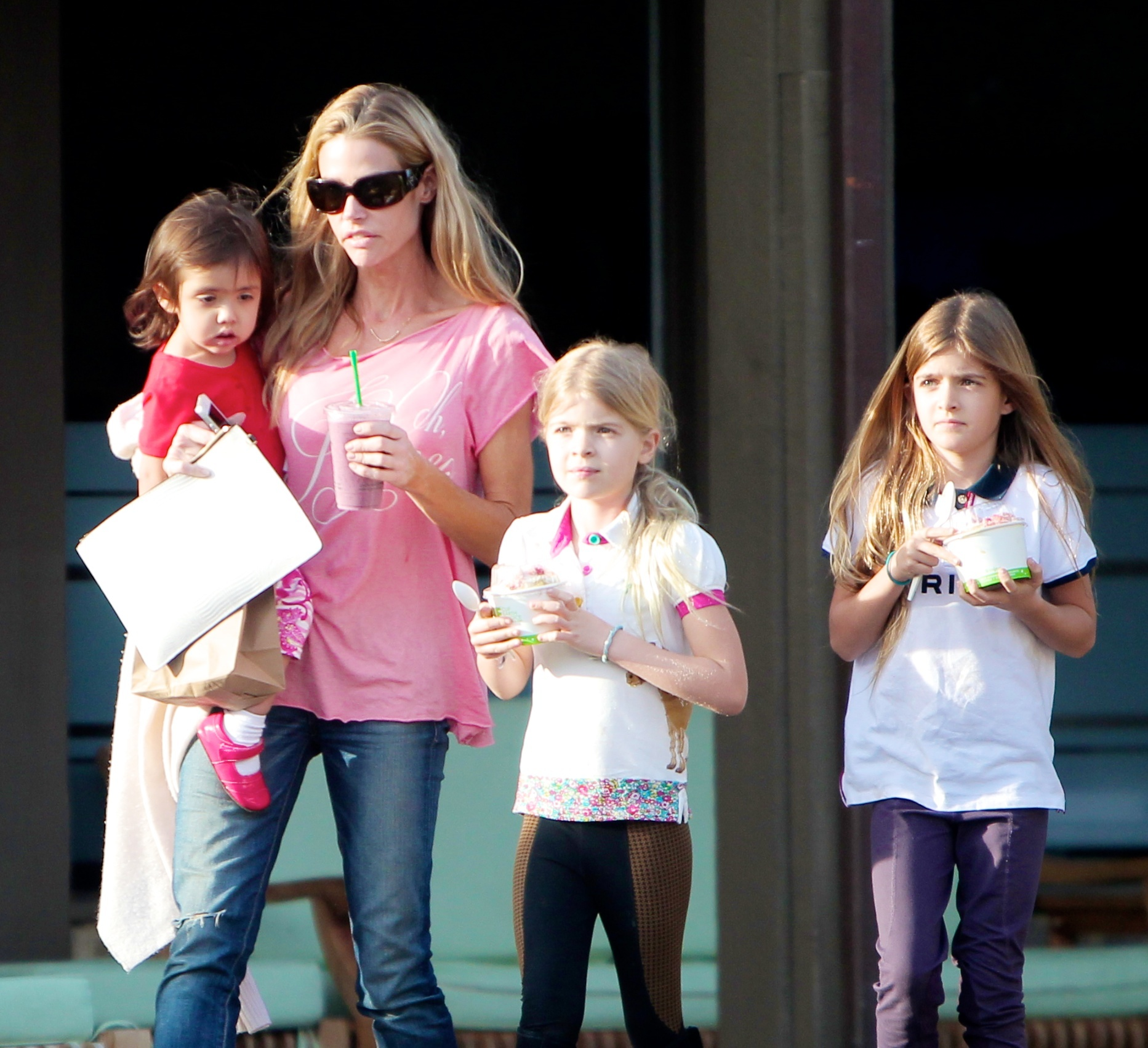 denise richards charlie sheen's twins custody brooke mueller violence