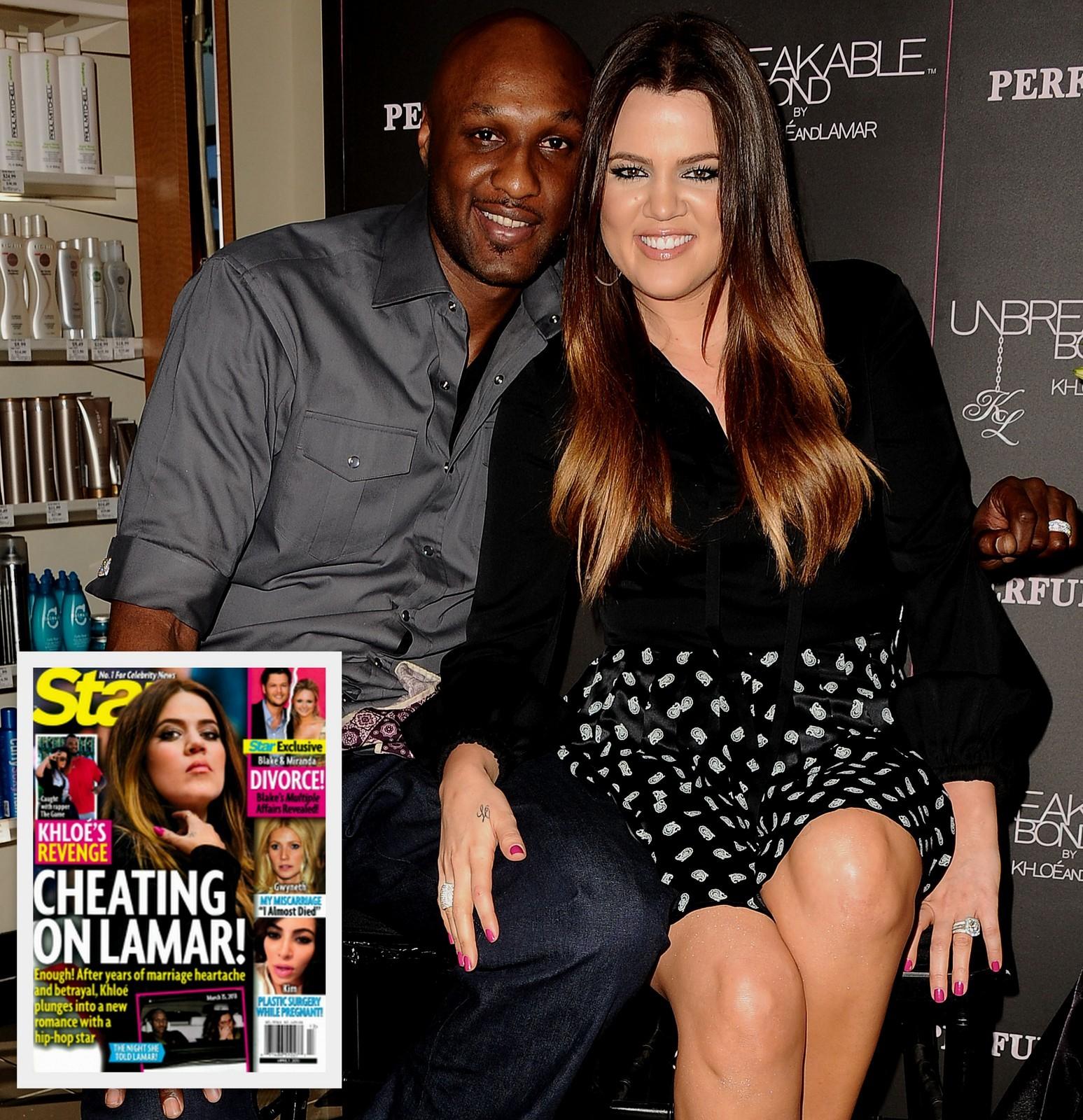 Khloe Kardashian Lamar Odom The Game