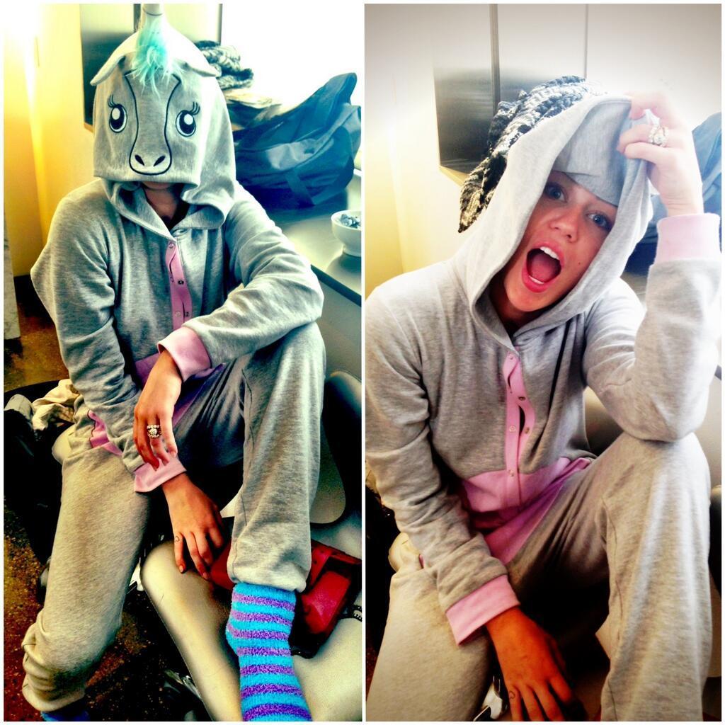 Miley Cyrus onesie