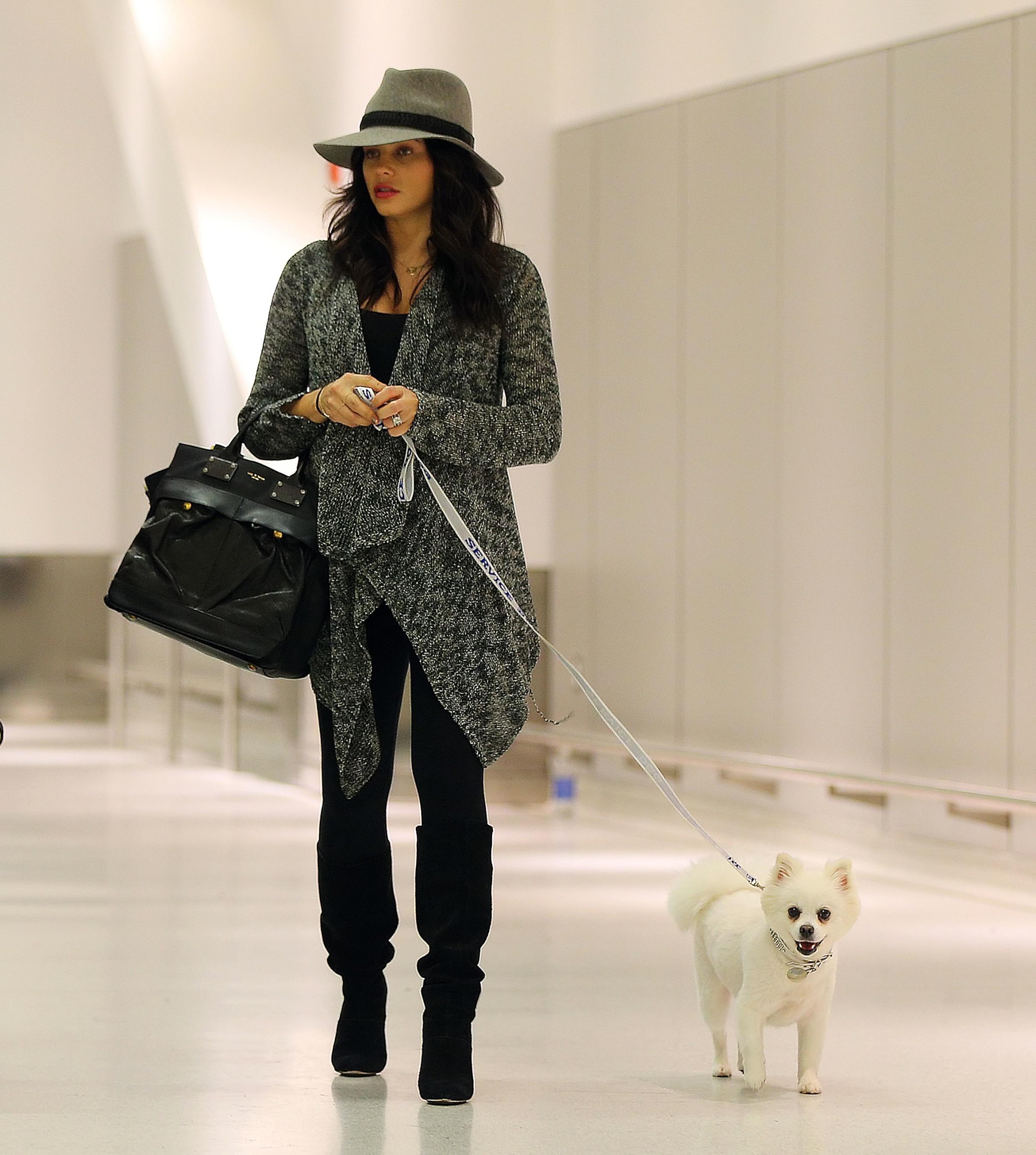 Jenna Dewan dog