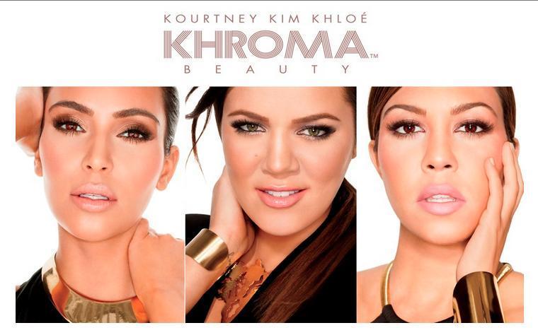 Khroma beauty kim khloe kourtney kardashian