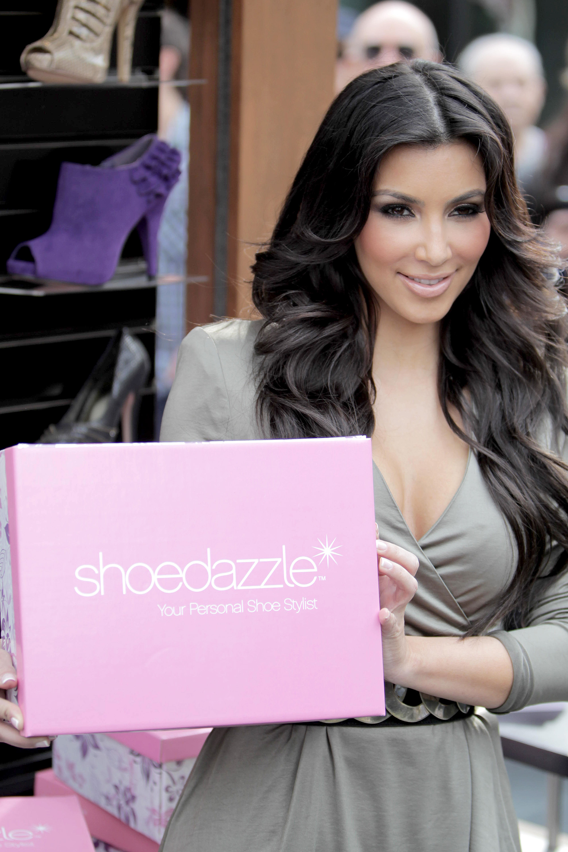 Kim Kardashian shoedazzle