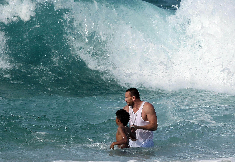 heidi klum son drowning nanny boyfriend bodyguard hawaii martin henry