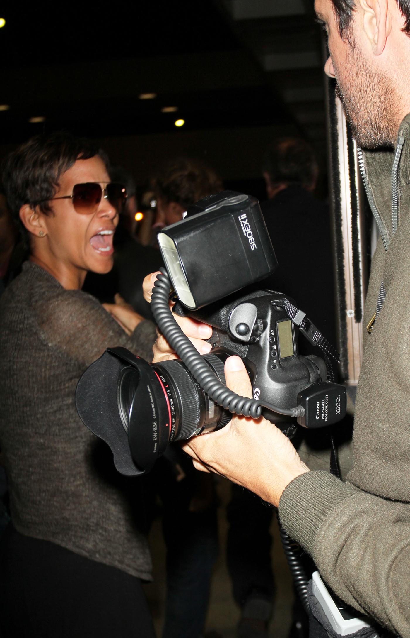 Halle Berry Olivier Martinez paparazzi