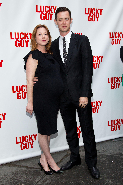 colin hanks wife pregnant tom hanks grandfather samantha new york
