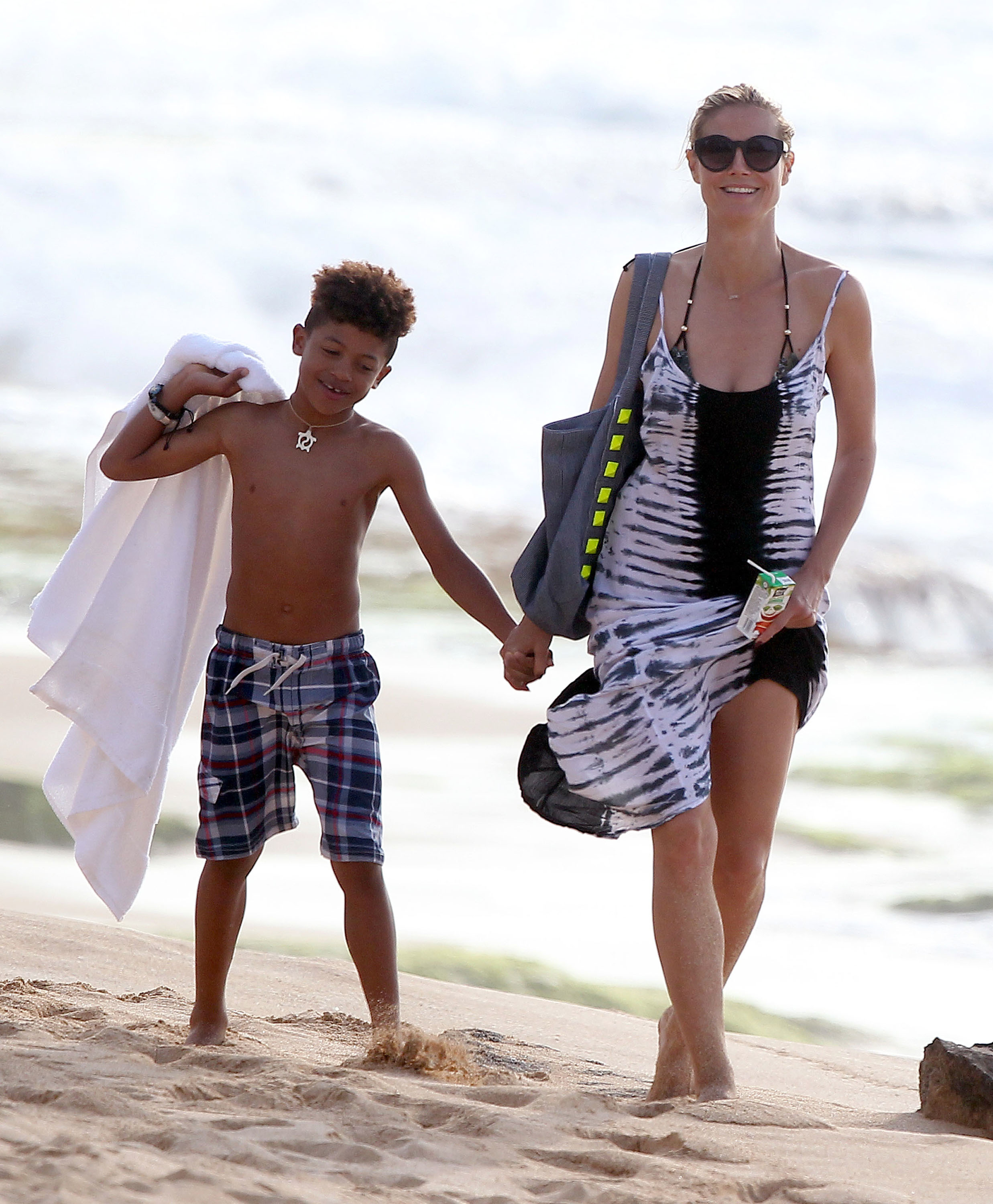 Heidi Klum making time for family and exercise despite her busy schedule