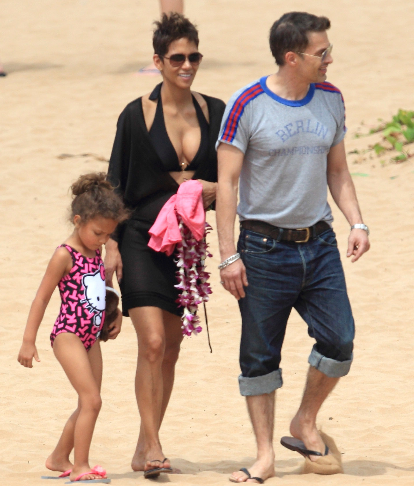 halle berry wedding married olivier martinez