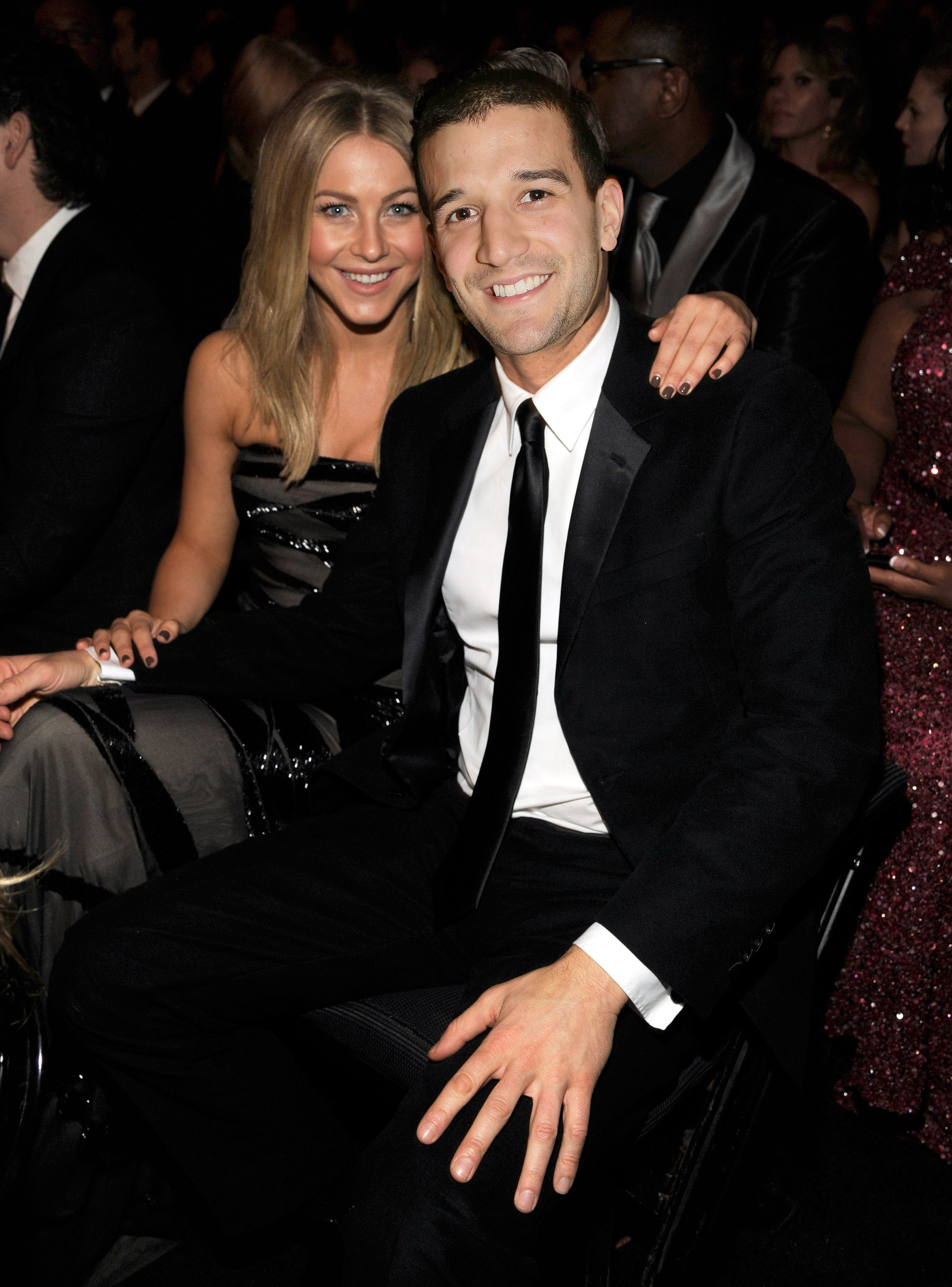 Mark Ballas and Julianne Hough