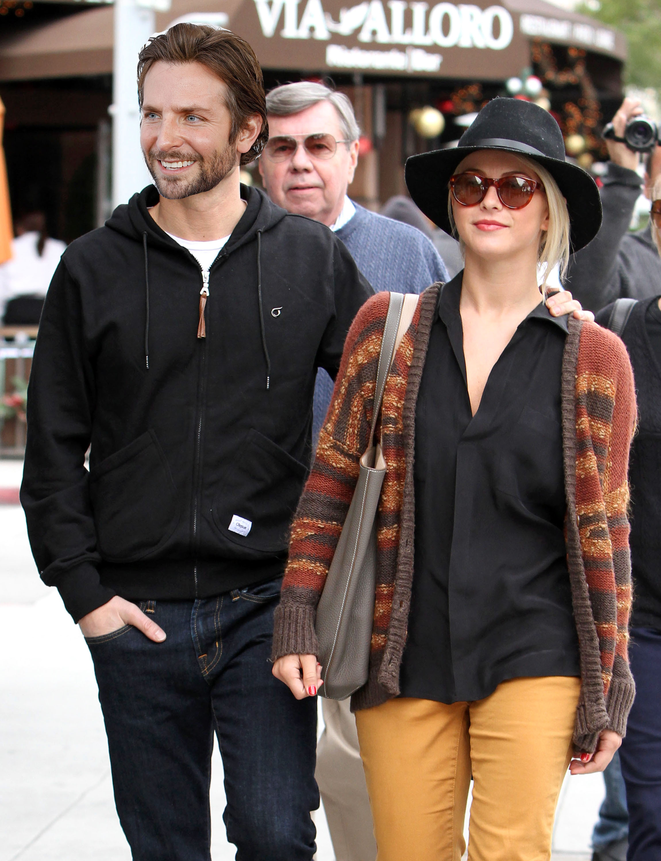 Bradley Cooper and Julianne Hough