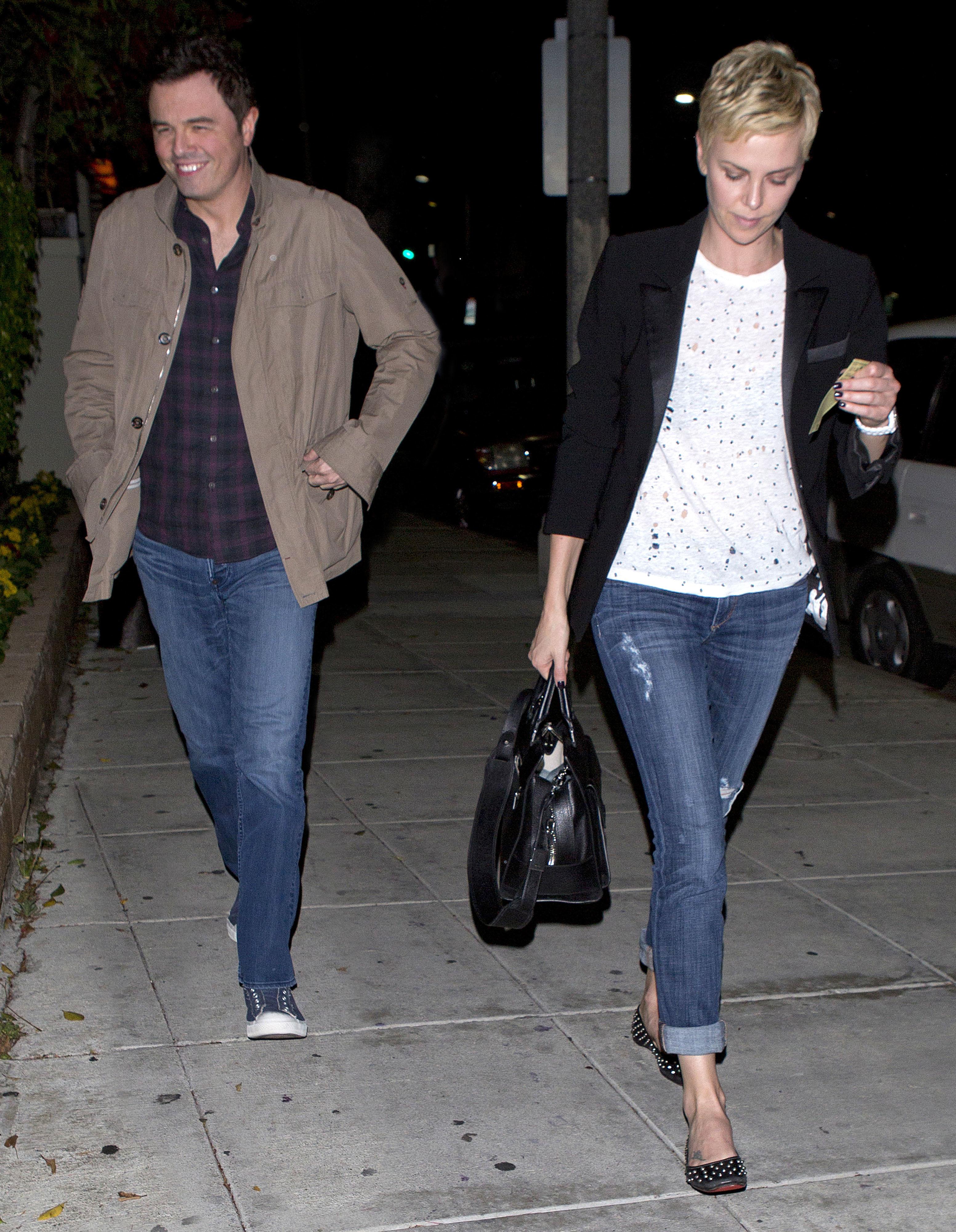 Charlize Theron Seth MacFarlane