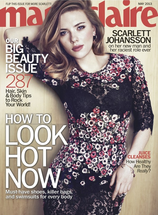 scarlett johnansson marie claire cover story divorce porn hackers ryan