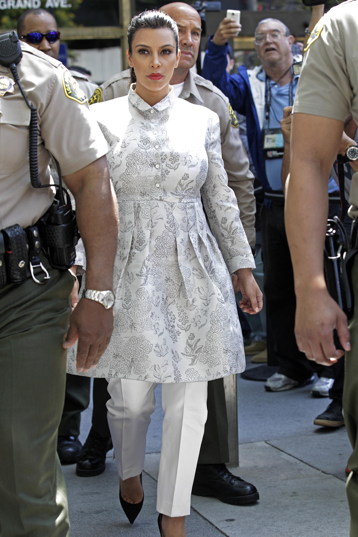 Kim Kardashian court hearing