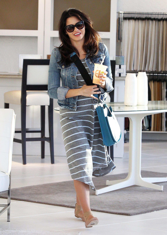 Jenna Dewan maternity style