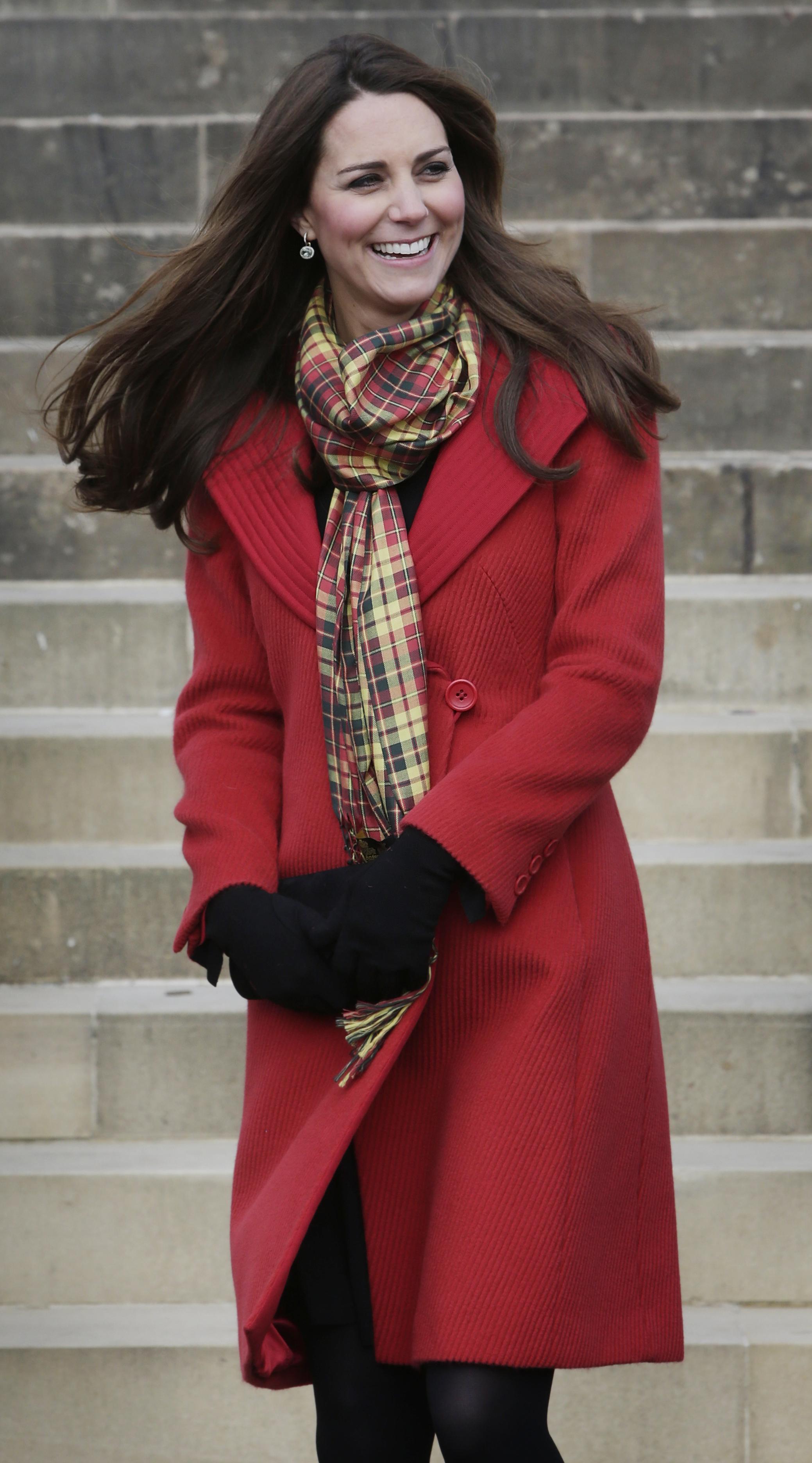 Duchess Kate smiling