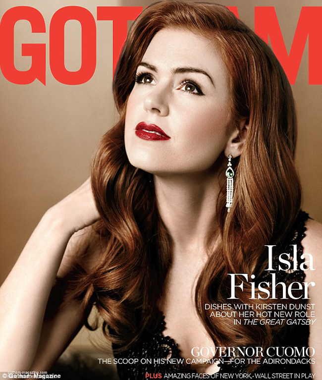 Isla Fisher Carey Mulligan magazine cover