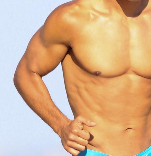 Mario Lopez muscles