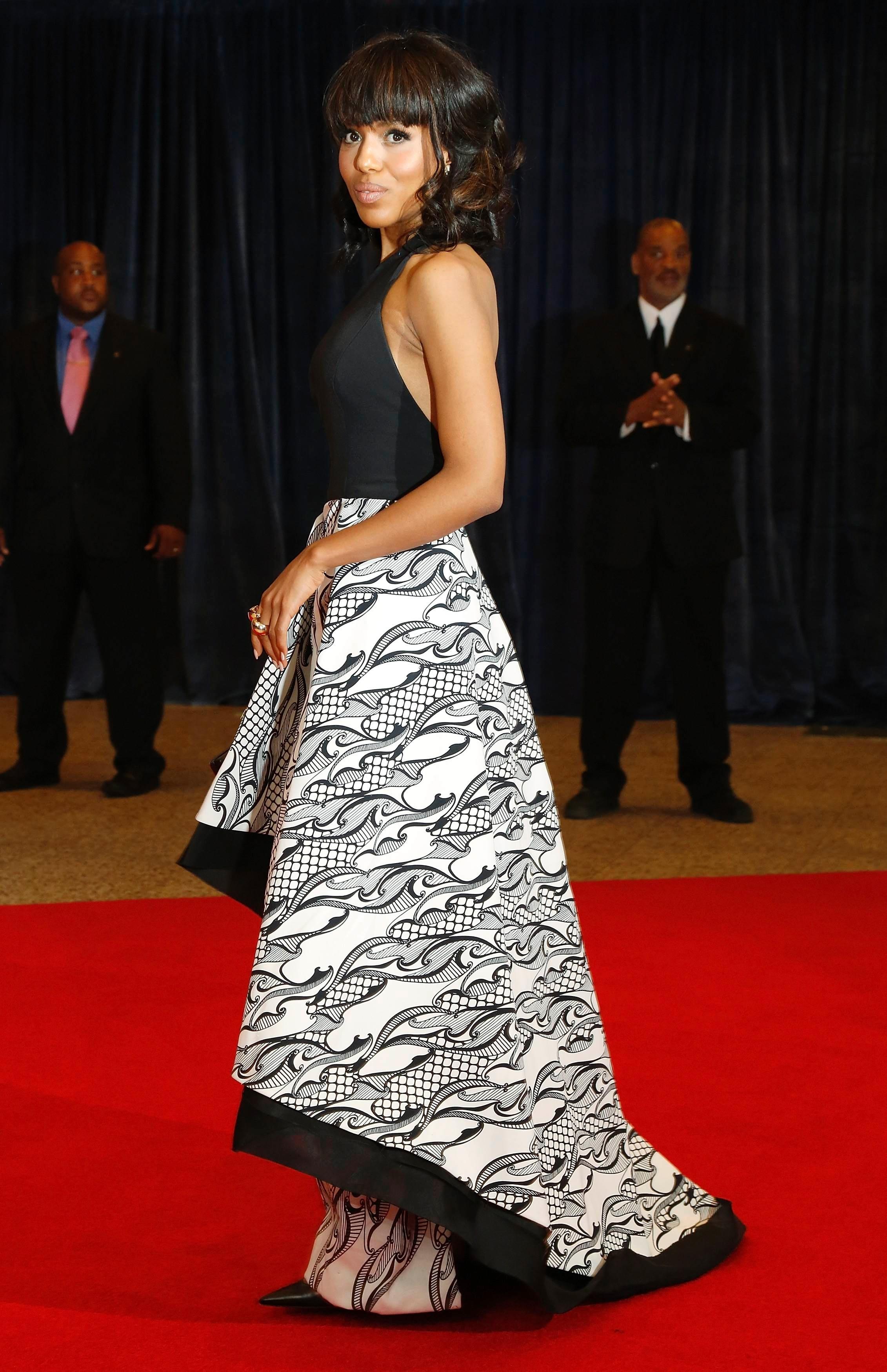 Kerry Washington red carpet style