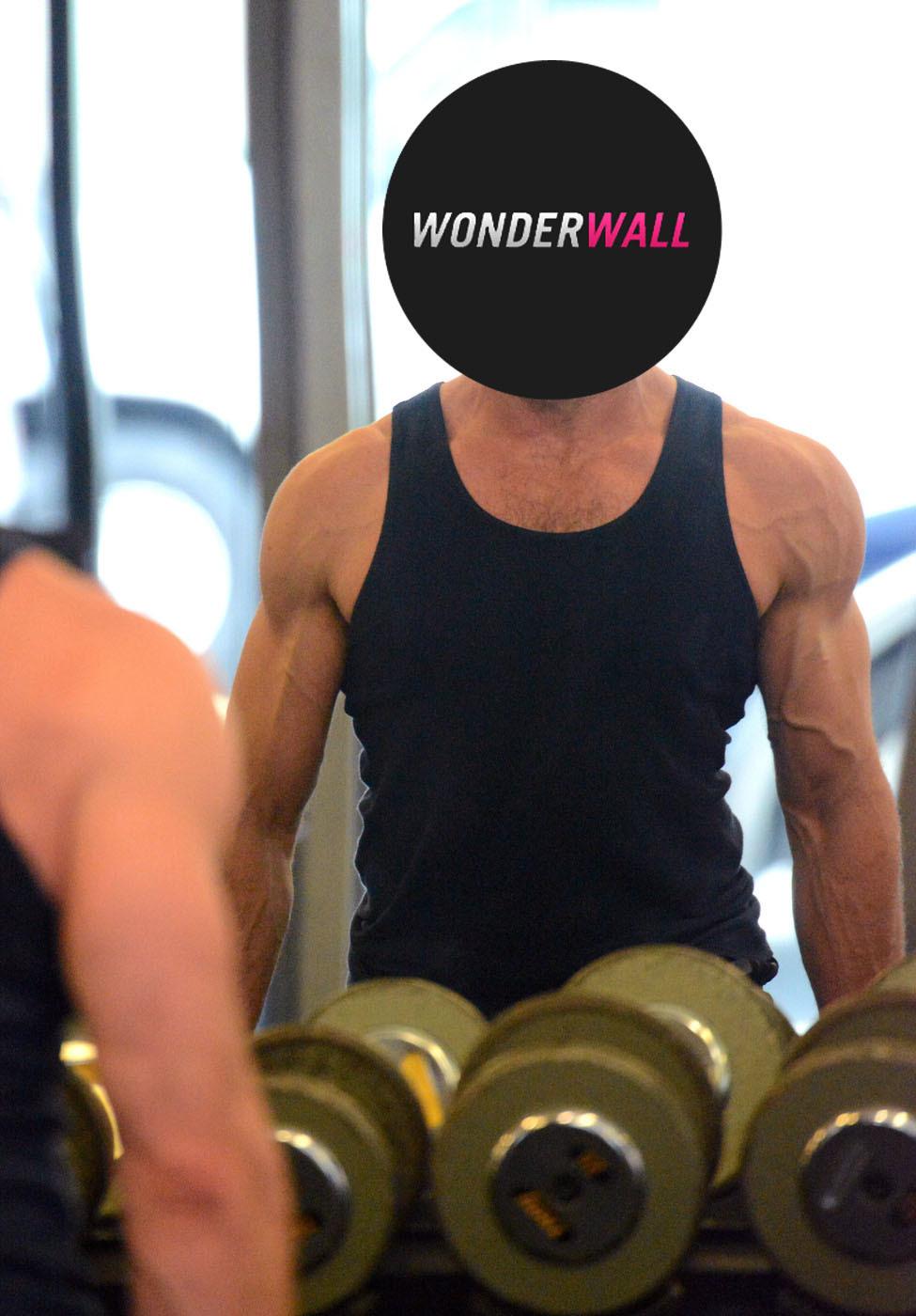 hugh jackman working out