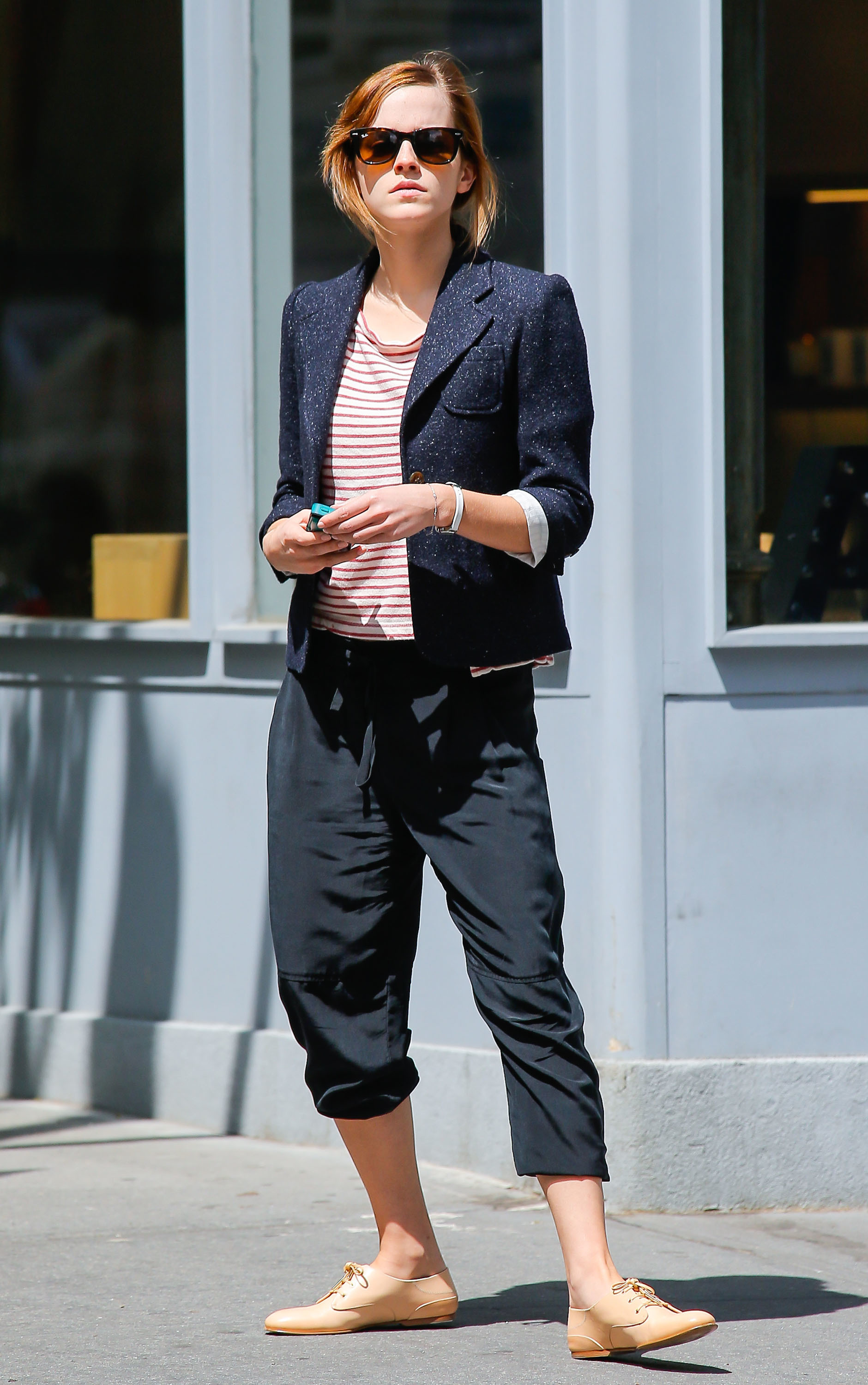 Emma Watson out and about