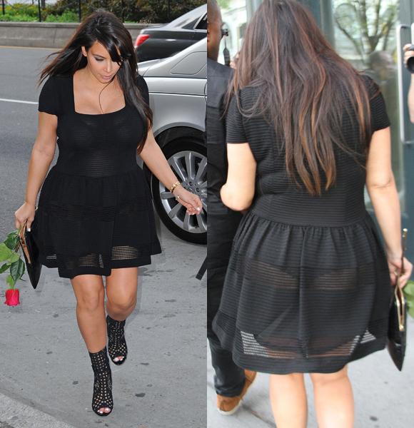 kim kardashian 20 Most Revealing Celeb Maternity Styles