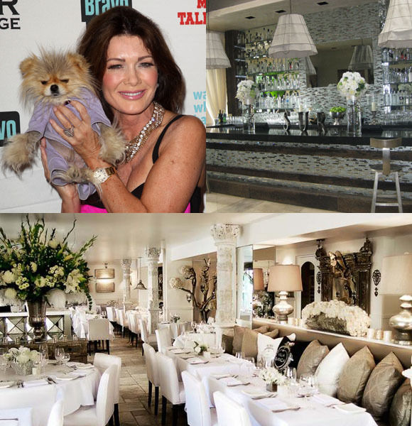 Real Housewives of Beverly Hills Lisa Vanderpump Villa Blanca Sur